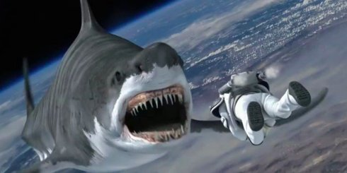 Sharks. In. Spaaaaace...